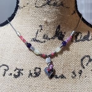 Brighton Charm listen to your heart necklace